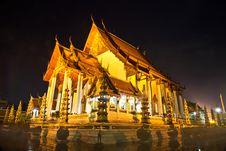 Wat Sutat Woramahawiharn Royalty Free Stock Images