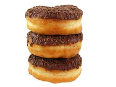 Free Chocolate Doughnuts Stock Photo - 20226460