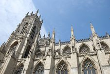 Free York Minster Tower3 Royalty Free Stock Image - 20227656