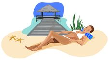 Free Vacation In The Tropics Royalty Free Stock Photography - 20227727