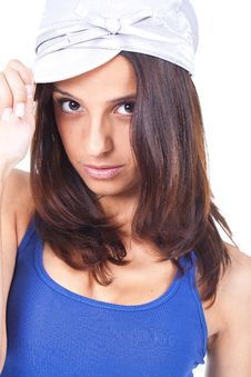 Free Woman Wearing A Hat Stock Photo - 20228360
