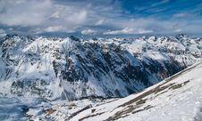 Free Alpine Mountain Panorama Stock Photos - 20228873