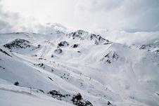 Free Alpine Ski Resort Panorama Royalty Free Stock Photography - 20228877