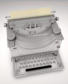 Free Old Typewriter Stock Image - 20229001