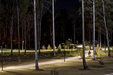 Free Park At Dark Stock Image - 20229541