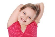 Free Portrait Of Little Girl Stock Photos - 20229623