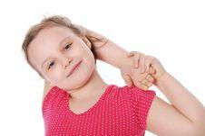 Free Portrait Of Little Girl Stock Photo - 20229630