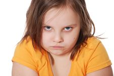 Free Portrait Of Little Girl Stock Photography - 20229712