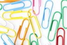 Free A Colorful Paper Clip Royalty Free Stock Photo - 20229725