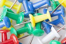 Free A Colorful Thumb Tack Stock Photo - 20229750