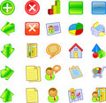 Free Business Based Icon Pack Royalty Free Stock Images - 20231079