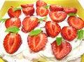 Free Strawberry Dessert  Fruit Pudding Stock Photo - 20231520