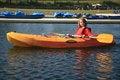 Free Boy Kayaking Royalty Free Stock Photo - 20231635