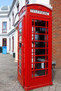 Free Traditional Red Telephone Box In London Royalty Free Stock Photos - 20231998