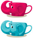 Free Elephant Cup Royalty Free Stock Photos - 20232518
