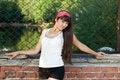 Free Girl Walking Outdoor Stock Photos - 20233143