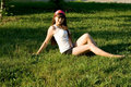Free Beautiful Girl On Meadow Royalty Free Stock Photography - 20233307