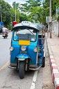 Free Thai Tuk Tuks Sit Parked Royalty Free Stock Images - 20235339