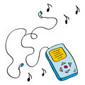 Free Doodle Music Player Stock Photography - 20237572