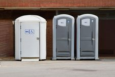 Free Eco Toilets Royalty Free Stock Photography - 20230257