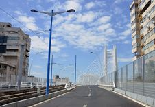 Free Aerial Bridge Stock Image - 20230511
