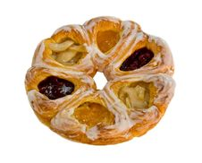 Danish Rolls Stock Images