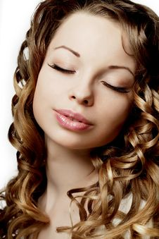 Free Luxurious Curly Girl Stock Photo - 20231070