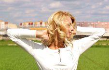 Free Blondy Beautiful Girl Royalty Free Stock Image - 20231496