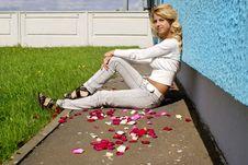 Free Blondy Beautiful Girl Stock Photography - 20231582