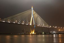 Free Kanchanaphisek Bridge,Bangkok Stock Photography - 20231682