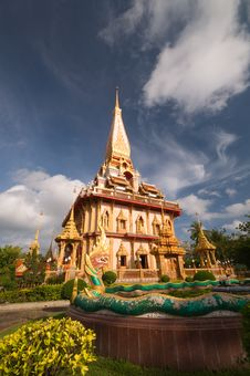 Free Thai Temple Royalty Free Stock Image - 20232056