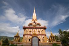Free Thai Temple Royalty Free Stock Photography - 20232077