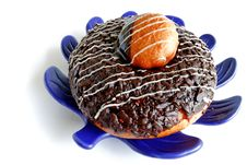 Free Morning Donut Royalty Free Stock Photography - 20232177