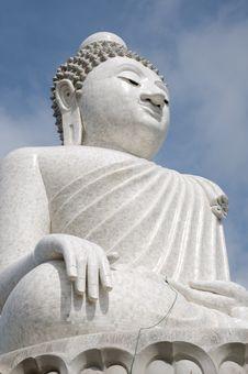 Big Buddha Image Statue Royalty Free Stock Images