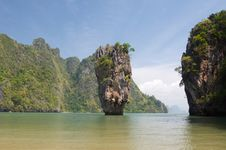 Free James Bond Island Ro Khao Tapu Stock Photography - 20232312