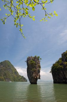 Free James Bond Island Ro Khao Tapu Stock Photography - 20232352