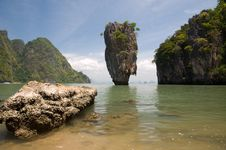 Free James Bond Island Ro Khao Tapu Stock Photo - 20232370