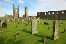 Free St Andrews Cathedral Grounds Royalty Free Stock Images - 20233049