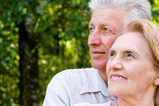Free Cute Elderly Couple Stock Photos - 20233323