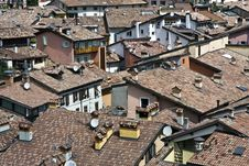 Free Riva Del Garda City Roofs Royalty Free Stock Image - 20233376