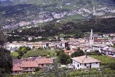 Italian Village Stock Image