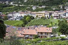 Free Italian Village Houses Royalty Free Stock Photos - 20233478