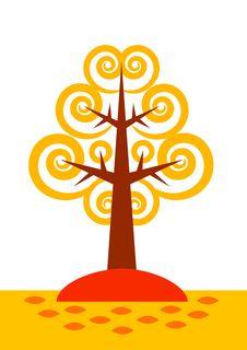 Free Autumn Tree Stock Images - 20233744
