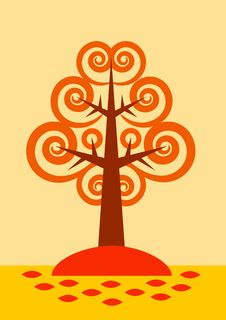 Free Autumn Tree Stock Photography - 20233752