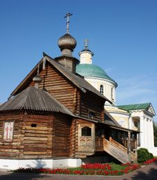 Free Orthodox Temple Complex In Kosino, Moscow Royalty Free Stock Images - 20235119