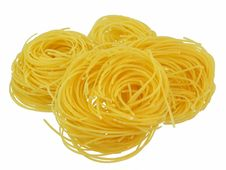 Free Pasta Swirls Royalty Free Stock Photography - 20235167