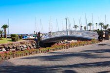 Free Bridge In The Garden Stock Images - 20235304