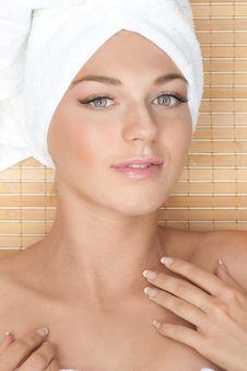 Free Spa Woman Stock Image - 20235871