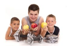 Free Healthy Young People A Break From Training Stock Photos - 20235903
