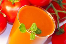 Free Tomato Juice Royalty Free Stock Photos - 20236368